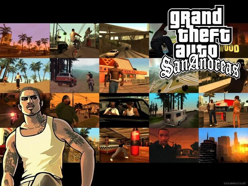 GTA San Andreas + Multiplayer SA:MP (2005/RUS) .